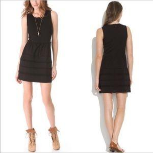 Madewell • Little Black Silhouette Scuba Dress